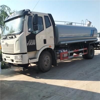 绿化带喷水大型喷洒车一汽解放J614吨洒水车厂家直销价格